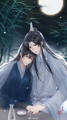 Handsome Anime Guys, Hot Anime Guys, Fanarts Anime, Manga Anime, Cherry Blossom Art, Fantasy Art Men, Anime Love Couple, Ancient China, American Comics