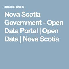 Nova Scotia Government - Open Data Portal | Open Data | Nova Scotia