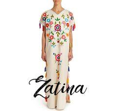 0a09c5549 Alta Frecuencia Mexico  Zatina Mexico imponiendo Tendencia. vestido bordado  con flores Mexicano. Mexican
