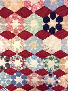 A-Beautiful-Vintage-Handmade-Miniature-Brunswick-Star-30s-Patchwork-Quilt