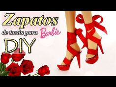 It doesn't matter that this video is in Spanish, you can figure out what's happening. How to make high heeled Barbie doll shoes, although this could be adapted for other sizes of dolls. No polymer clay! Barbie E Ken, Barbie Shoes, Doll Shoes, Barbie Dolls, Barbie Stuff, Barbie Fashionista, Barbie Sewing Patterns, Doll Patterns, Clothing Patterns