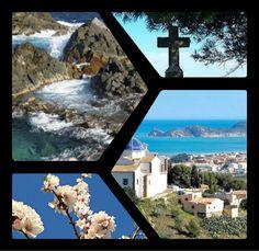 Jávea, Costa Blanca. Spain Spanish Holidays, Mount Rushmore, Costa, Mountains, Nature, Pictures, Travel, Spain, Photos