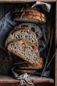... basic sourdough bread ...