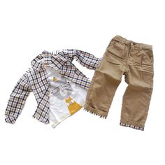 Lovely Set of Jacket, Shirt and Jeans Trousers Boys Suits, Spring Jackets, Baby Boy Outfits, Bermuda Shorts, Baby Kids, Infant, Khaki Pants, Trousers, Jeans