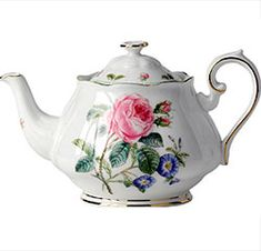 Royal Albert - Botanical Teas - ROSES - www.royalalbertpatterns.com
