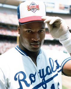 Check out our massive range of Kansas City Royals merchandise! Kansas City Royals, Bo Jackson, Baseball Players, Nfl Football, Pro Baseball, Baseball Stuff, Baseball Cards, Happy Birthday, Sports