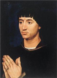 VAN DER WEYDEN Rogier - Flemish (Doornik 1400 - 1464) - Portrait of Jean de Gros