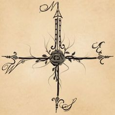 Tribal Compass Rose