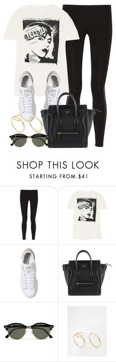 """Style #10477"" by vany-alvarado ❤ liked on Polyvore featuring Theory, R13, adidas, Ray-Ban and Pilgrim"