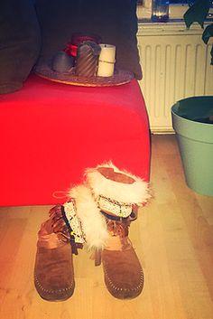 Vet cutie DIY hippie boho boots.