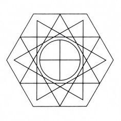 Gráfico De Radiestesia- Programador Físico- Estrela Dupla