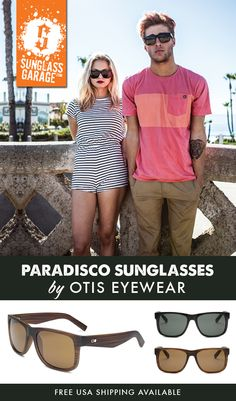 db5338d5135 Otis Paradisco Sunglasses - by Otis Eyewear - Free USA Shipping