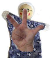 hand puppets, kasperl hand