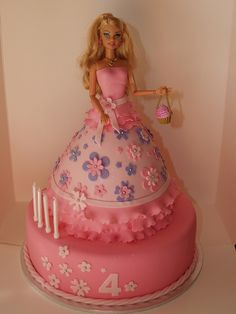 Princess Jessica's 4th Birthday Cake, via Flickr.