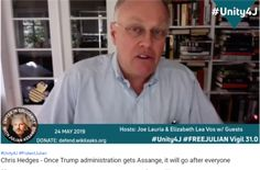 Chris Hedges - Once Trump administration gets Assange, it will go after everyone