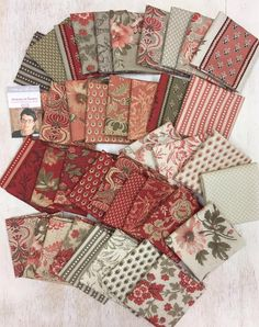 The Warp and the Weft: All the News. French Country Fabric, French General Fabric, French Fabric, Fabric Combinations, Textiles, Fabulous Fabrics, Fabric Wallpaper, Vintage Fabrics, Fabric Crafts