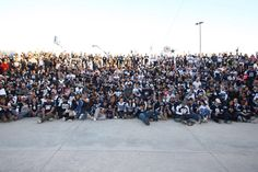 Aficionados a los Dallas Cowboys se toman foto anual en la X | El Puntero