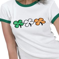 I like it because it's a simple St Patrick's Day Shamrock Tshirt