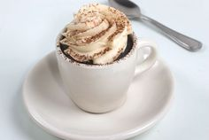 cute serving idea for mexican hot chocolate or coffee cupcakes