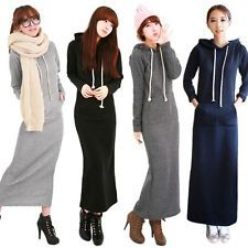 Fleece Maxi Dress
