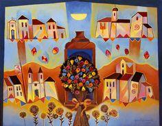 "Yara Tupynambá  ""Bouquet de flores artesanais"""
