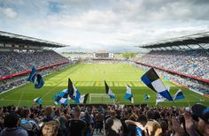 Avaya Stadium is the place to catch the Earthquakes soccer games! A stunning new facility! Photo Credit: John Todd
