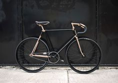 Black and copper BIKE