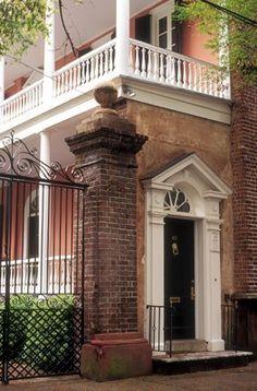 Tradd Street, Charleston, South Carolina, USA