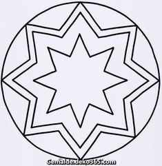 Mandala Templates for Toddlers and Crib 9 – Fantasy – # for … - Malen Firetruck Coloring Page, Volkswagen Logo, Cribs, Coloring Pages, Kindergarten, Crafts For Kids, Fantasy, Templates, Cot