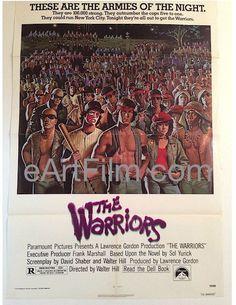 Happy Birthday #JamesRemar https://eartfilm.com/search?q=james+remar #actors #acting #Dexter #TheWarriors #SexandtheCity #DjangoUnchained #Horns #Disney #film #cinema #movies #movieposters #posters  Warriors, The 1979 27x41 One Sheet United States