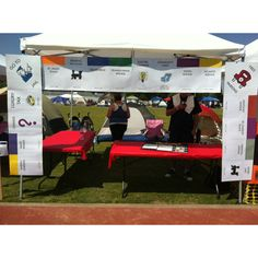 Monopoly themed team campsite for a Relay For Life event. Monopoly theme included in team fight back activity and onsite fundraising too!