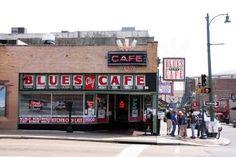 Blues City Cafe on Beale St. - Memphis, TN