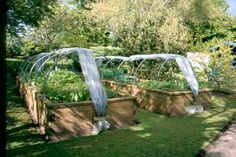 raised garden bed from pallets | raised beds with poly tunnel jpg raised garden vegetable beds