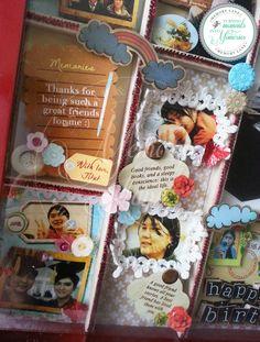 Visit www.facebook.com/memorylanescrapbook