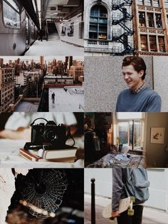 """ ➢▩ Tom Holland as Peter Parker & Spider-Man """