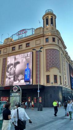 Madrid. Hablando de cine.