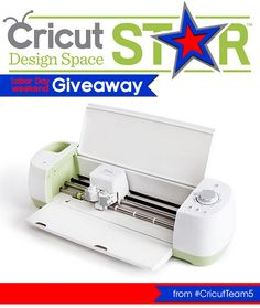 Cricut Explore Labor Day Weekend Giveaway