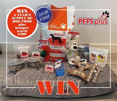 ‼️MASSIVE GIVEAWAY‼️ WIN a YEARS supply of dog food and this amazing hamper all worth €1000!! Head over to @rsvpmagazine1 Instagram to see how you can enter and tag a friend! 😱 Chicken Rice, Hamper, Dog Food Recipes, Cereal, Pets, Giveaway, Forget, Instagram, Amazing