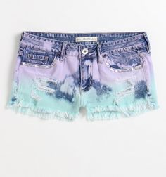 Bullhead Black Pool Party Shorts    I love dip dye. I realllllly want these or a similiar pair