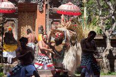 Watch The Amazing Barong Dance