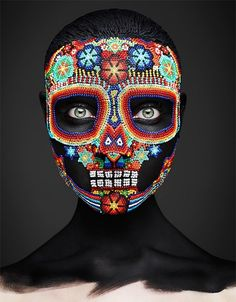 Make up by Andrew Gallimore & photo by Rankin