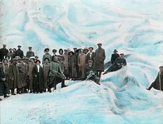 These psychedelic old photos lured tourists to Norway ~ from c. 1900 Norwegian lantern slides A psychedelic-colored tour of majestic fjords by Alex Q. Norway Fjords, Norway Travel, Modern Photography, Old Photos, Antique Photos, Vintage Photographs, Vintage Images, Psychedelic, Travel Photos