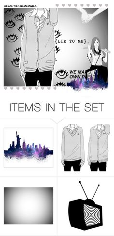 """""""Fallen Angels of Society - Brain Washing"""" by silkyunicorn ❤ liked on Polyvore featuring art"""