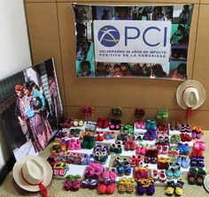 Booties from PCI Guatemala Cooperative