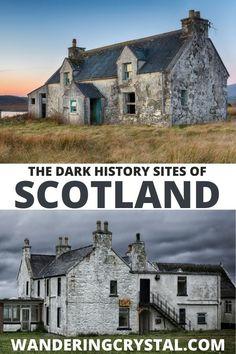 Spooky Places, Haunted Places, Abandoned Places, Places In Scotland, Scotland Travel, Glasgow Necropolis, Glasgow Cathedral, Places To Travel, Places To Visit