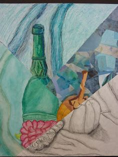 The Calvert Canvas: Adventures in Middle School Art!: 7th Grade multi media still life