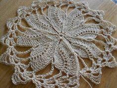 ▶ Tejido circular de 8 abanicos crochet - YouTube