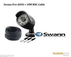 Swann PRO-A850 - 720P Day/Night Security Camera + 18m BNC Cable