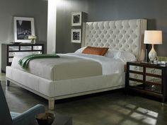 Elegant bedroom decor, Modern-Uptown-Master-Bedroom   Modern Uptown Master Bedroom #PoshLiving