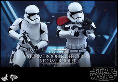ToyzMag.com » Hot Toys – Star Wars : First Order Stormtrooper Officer Set